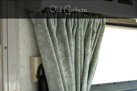Expensive Curtain Fabric Rv Window Treatments The New Lighter Life
