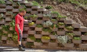 what are retaining wall blocks with pictures