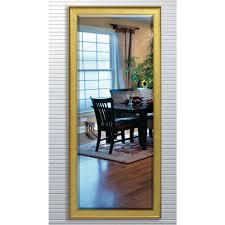 Beveled Floor Mirror by 30 In X 63 5 In Shiny Bronze Beveled Floor Mirror H020bt The