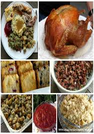 thanksgiving traditionalsgiving dinner menu shopping list best