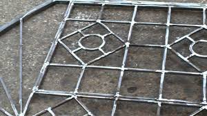 fabricate steel window grills youtube