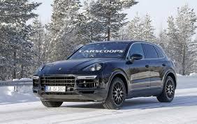 Porsche Cayenne 3 6 - porsche caught testing all new 2018 cayenne