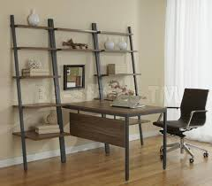 Ladder Bookcase Desk Combo Modern Home Office Sets Office Desks With Tables