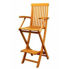 Patio Furniture Bar Height Bar Height Wood Folding Chair Royal Tahiti Patio Furniture