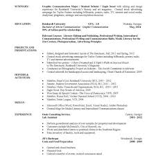 Resume Samples For College Graduates by Fashionable Idea College Graduate Resume Template 14 College