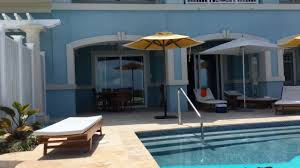 sandals royal estate two story one bedroom beachfront butler villa