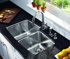 kitchen sinks and faucets how to clean a stainless steel sink and make it shine brewer