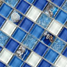 Blue Glass Tile Bathroom - compare prices on floor mosaic tiles online shopping buy low