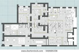 office floor plan vectors download free vector art stock