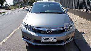 Famosos Honda Civic LXR 2.0 Aut Cinza Flex 2014 - 2013/2014 - Honda  @KB19