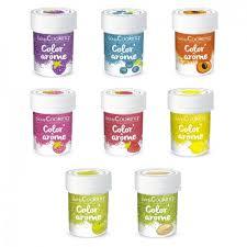 8 colorantes alimentarios con aroma de frutas