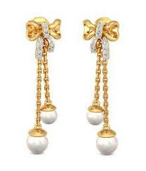 gold earrings buy gold earrings online with designs at