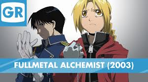 fullmetal alchemist gr anime review fullmetal alchemist 2003 youtube