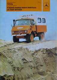 the 1972 mercedes benz unimog is a u0027truck on a tractor foundation