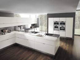 cuisine blanc laqué et bois cuisine blanc laquee blanche et bois collection et cuisine blanc