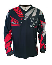 jersey motocross ride981 men u0027s red 981 downhill and freeride jersey