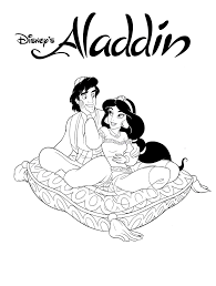 jasmine coloring pages printable aladdin coloring pages coloring me