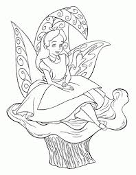 kids n fun 16 coloring pages of alice in wonderland in alice in