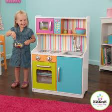 kidkraft bright toddler kitchen childrens kitchen wooden toys