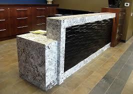 Granite Reception Desk Reception Desk 8 Bordt Sons Tile And Granite