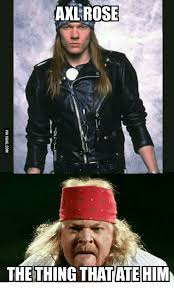 What Is An Exle Of A Meme - axl rose thething thatatehimm axl rose meme on me me