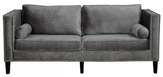 Grey Sofa Slipcover by Design Ideas For Grey Velvet Sofa 18886