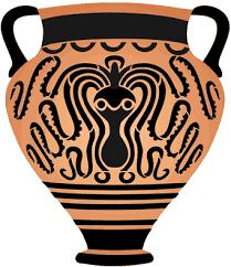 Greek Vase Design Catalogue Stencil Kingdom