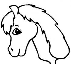 free printable horse head template pictures of horses