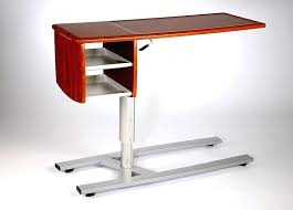 hospital bed table with drawer side tables hospital bedside table adjustable tables wire side