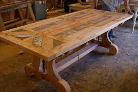 Wooden Dining Table Designs With Glass Top Decor Reclaimed Wood Table Tops For Furniture Decoration Ideas