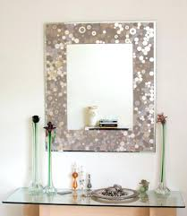 diy bathroom mirror ideas diy framing bathroom mirror