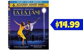 black friday blu ray list target la la land blu ray dvd digital hd 14 99 southern savers