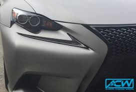light gray lexus 2014 lexus f sport matte gunmetal atlanta custom wraps