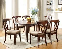 Chic Dining Room Sets Addison Black And Cherry Wood Dining Table Chic Addison Black And