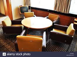 office lounge of the stasi headquarters in the stasi museum