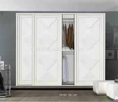 3 Door Closet Wooden 3 Doors Wardrobe Closet Wholesale Wardrobe Closet