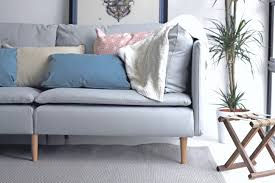 Replacement Legs For Karlstad Sofa 11 Ways Your Ikea Sofa Can Look A Million Bucks