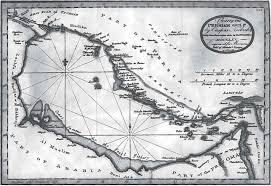 Doha Map Historical References To Doha And Bidda Before 1850