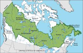 North America Biome Map by Canada U0027s Boreal Forest Boreal Songbird Initiative