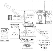 Traditional Floor Plan Ashley House Plan House Plans By Garrell Associates Inc
