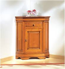 Decoration Cupboard Furniture Alluring Picture Of Vintage Solid Light Oak Wood Corner