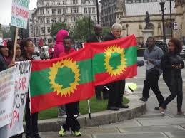 Oromo Flag Statement Of Peaceful Demonstration Of The Oromo Community In The