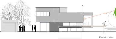 bi level house floor plans contemporary split level home in aalen germany