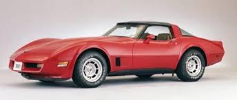 what is a 1981 corvette worth chevrolet corvette
