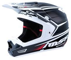 black motocross helmet msr mav 3 sf helmet revzilla