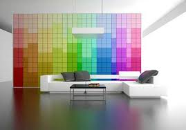 Modern Interior Design With Breathtaking Rainbow Color Combinations - Interior design wall paint colors