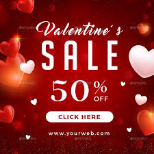 valentines sale valentines day sale banners by infinite78910 graphicriver
