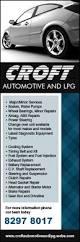croft automotive u0026 lpg mechanics u0026 motor engineers 872 874