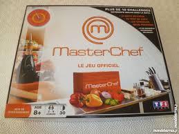 jeux de cuisine masterchef achetez boîte de jeu quasi neuf annonce vente à istres 13 wb153022910