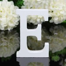 1pc wooden wood letter alphabet word free standing wedding party